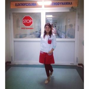 Івасенко Тетяна працює у відділення кардіології та інтенсивної терапії у військовому шпиталі.
