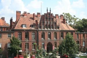 Один з головних навчальних корпусів Вроцлавського Медичного Університету