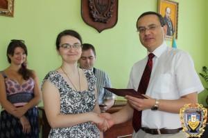 магістр медицини з загальної практики – сімейної медицини Уляна Захарчук