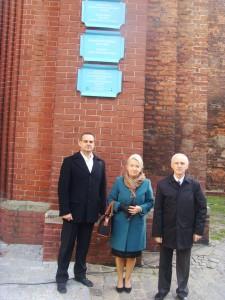 біля греко-католицької церкви в Гданську