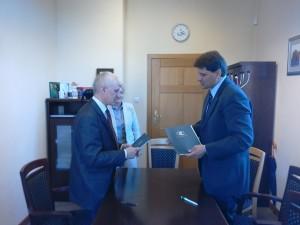 підписання угоди про співпрацю між Поморською академією та ДВНЗ ...... 1