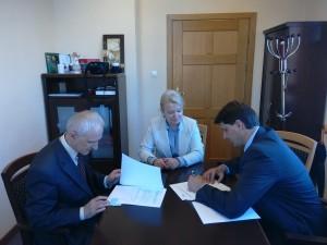 підписання угоди про співпрацю між Поморською академією та ДВНЗ ......