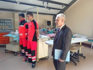 в кабінеті підготовки спеціалістів з медичного рятівництва 1