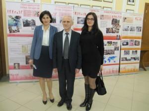 Фото 5_керівництво ТДМУ під час відвідування виставки