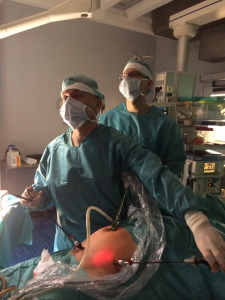 Під час операції ТЕР при паховій грижі