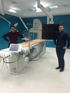 Запізнавання з операційними залами під час відкривання лікарні в м.Тарнові