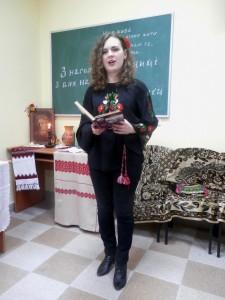 Студентка IV курсу I групи Усенко Марія, вірш «Зоряне небо»