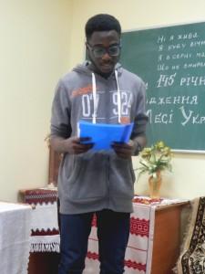 Студент I курсу VI групи Босомнем Фердінанд, вірш «Без надії сподіваюсь» (Contra Spem Spero)