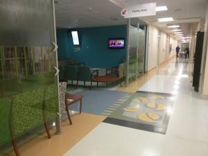 Місце для очікування біля операційної