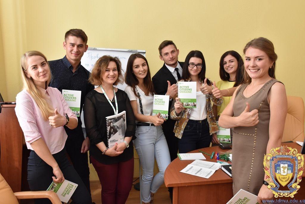 Студенти ТДМУ розробляли власний проект у рамках Програми сприяння академічній доброчесності