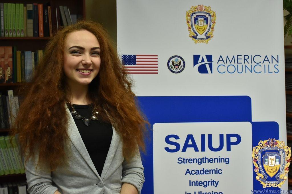 Студенти всіх вишів зібралися в ТДМУ в рамках Проекту сприяння академічній доброчесності в Україні