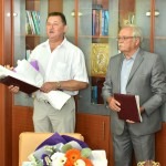 Ректорат ТДМУ привітав професорів-ювілярів